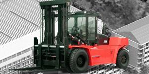 Xe nâng trọng tải lớn 12-16 tấn
