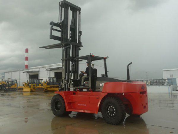 Xe nâng Hangcha trọng tải lớn 12-16 tấn