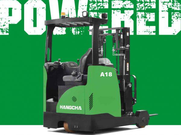 Xe nâng Reach Truck 1.8 tấn ngồi lái pin Lithium